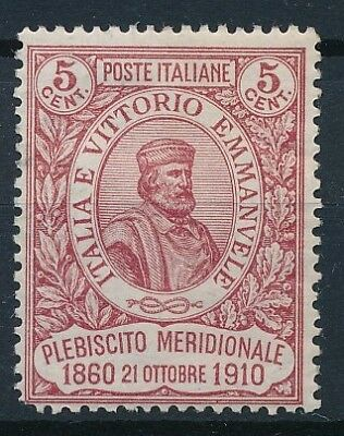 [37700] Italy 1910 Good stamp Very Fine MH Value $135