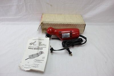 "Milwaukee Heavy Duty 3/8"" VSR Close Quarter angle Drill Cat. 0375-1"