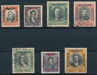 [38105] Chile 1928/32 Good airmail set without watermark VF used stamps