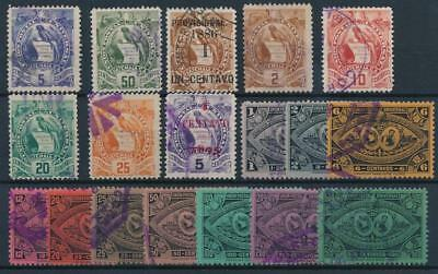 [38150] Guatemala Good lot of Very Fine used stamps