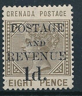 [38206] Grenada 1888/91 Good classical stamp Very Fine MH