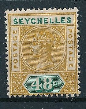 [38209] Seychelles 1890 Good stamp Very Fine MH Value $70