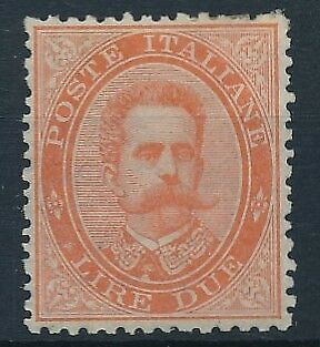 [38263] Italy 1879/82 Good stamp Very Fine MH Value $70