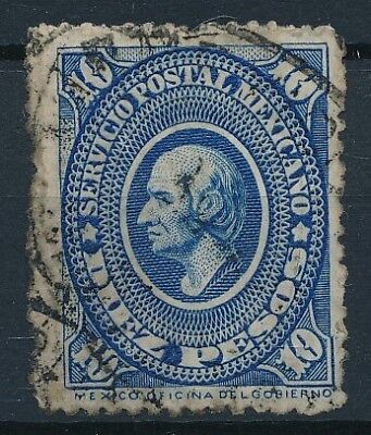 [38465] Mexico 1884 Good RARE stamp Fine/VF used High Value