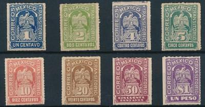 [38490] Mexico 1914 Good set of Very Fine MH stamps