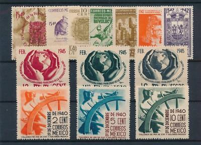 [38558] Mexico Good lot of Very Fine MH stamps