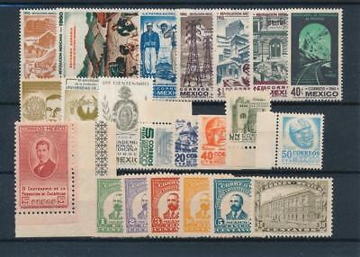[38569] Mexico Good lot of Very Fine MNH stamps