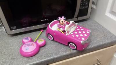 minnie mouse remote control car new see details