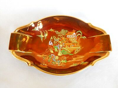 Carlton Ware Rouge Royale  Dish      ~ ' New   Mikado ' Pattern  ~ Superb !