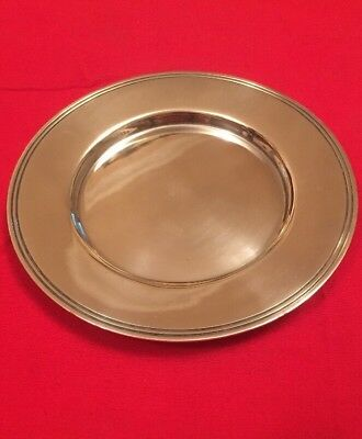 Vintage Silver Plated Wine Bottle Coaster By Atkin Bros. c.1900-1925