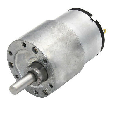 Electric Gearbox Replacement DC Gear Motor High Torque Silver 6V 88RPM