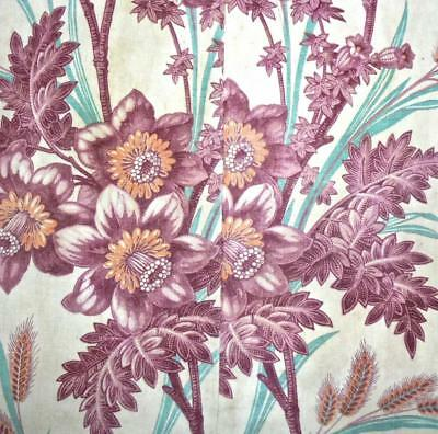 BEAUTIFUL 19th CENTURY FRENCH LINEN INDIENNE c1850s, REF PROJECTS