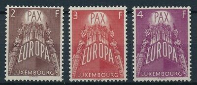[53990] Luxembourg 1957 Europa good set MNH Very Fine stamps $165