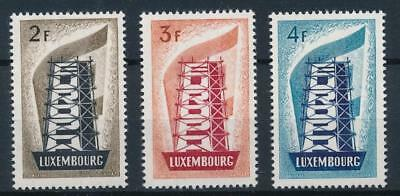[53991] Luxembourg 1956 Europa Scarce set MNH Very Fine stamps $600