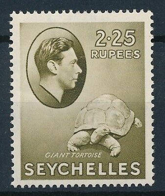 [54050] Seychelles 1938 Turtle good MH Very Fine stamp