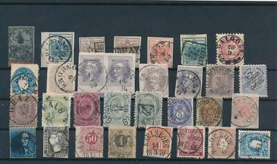 [G11153] Europe lot of classic stamps in fine aspect but with fault