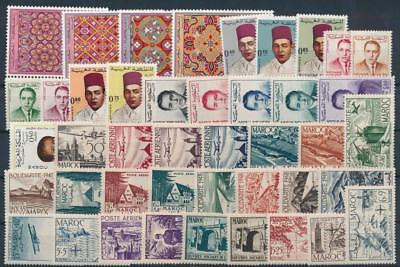 [G113732] Morocco Good lot of Very Fine MNH stamps