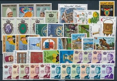 [G113737] Morocco Good lot of Very Fine MNH stamps