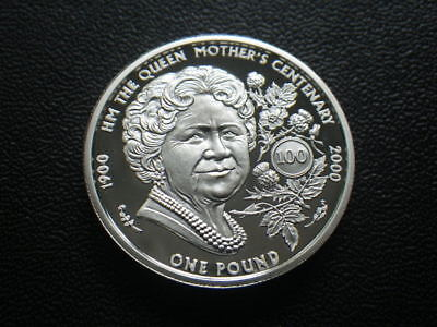 Guernsey 2000 Silver Proof One Pound