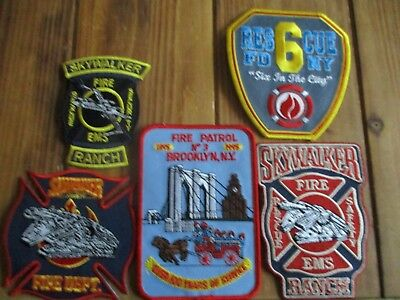 5 Company Fire Patches #36