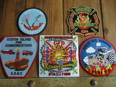 5 Company Fire Patches #39