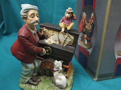Melody In Motion Music Figure Box -Organ Grinder -      (5
