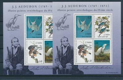 [G44597] France 1995 Birds Good sheet 2x Very Fine MNH