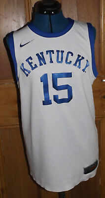 Nike Kentucky Wildcats Basketball #15 Replica Home Jersey SMALL vintage vest/top