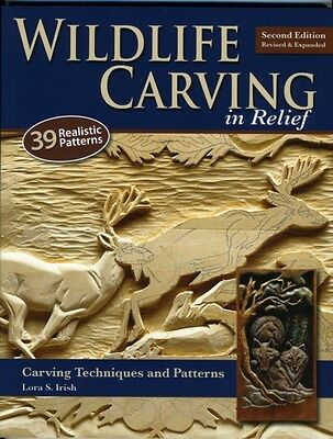 Wildlife Carving in Relief: Carving Techniques and Patterns (Pape. 9781565234482