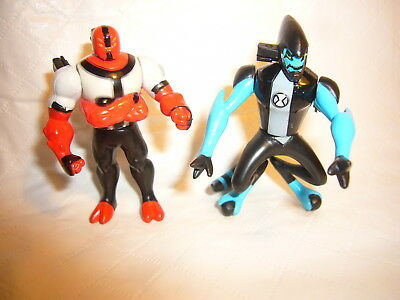 Ben 10 Alien Four Arms & XLR8 Creation Chamber Toy Action Figures