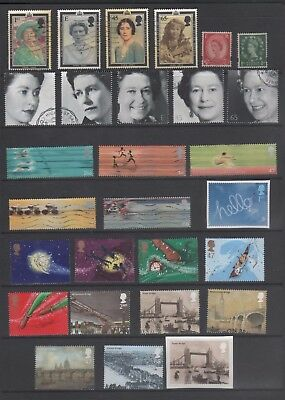 GB 2002 Used Selection incl.5 Sets