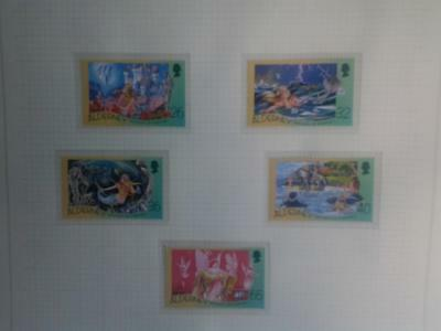 (A493)  Alderney The Little Mermaid 2005 Set Of 6 Mnh