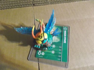 Skylanders Trap Team  * High Five * With Stat Card * Used * 5 Day Auction *
