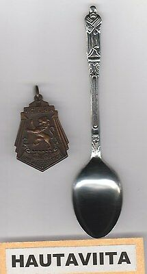 Scottish Highland Games Medal Victoria BC 1950-60s Bronze SDTA BritishColumbia