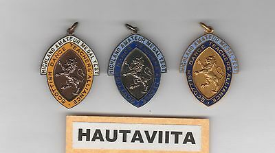 Scottish Highland Medals Test SDTA Dance Teachers Alliance B/S Gold 1950-60s