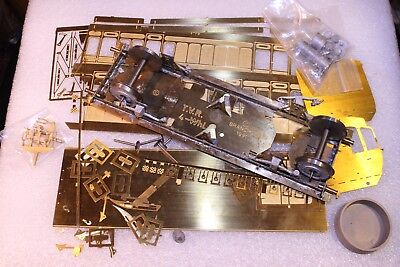 0 Gauge 7mm Scale Branchlines Brass Kit --- Taff Vale 4 Wheel Coach