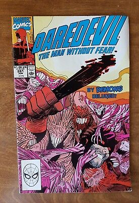 Daredevil #281 Marvel June 90 Vf Combine Shipping