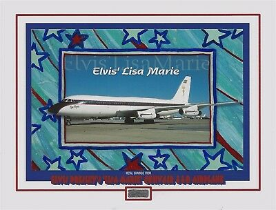 "ELVIS PRESLEY'S personal owned ""LISA MARIE"" CONVAIR 880 AIRPLANE metal shavings"