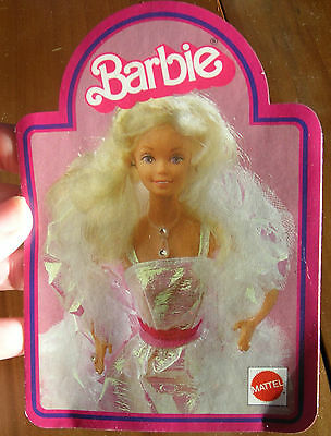 #17 German Barbie Booklet 1984 16 Pgs Crystal Loving You Great Shape..Barbies