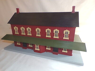 Mth Train Depot Station Building Train Layout Accessory Acc