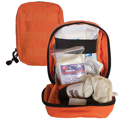 Large MOLLE Tactical 1st Aid Gear Soldiers Medic IFAK Trauma Kit Pouch - ORANGE