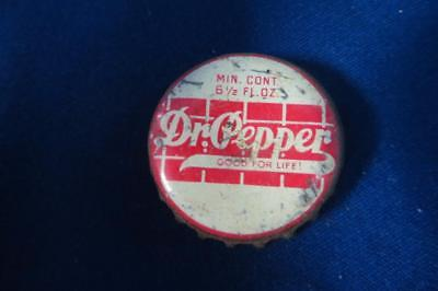 Vintage Bottle Cap  Dr. Pepper Richmond Va