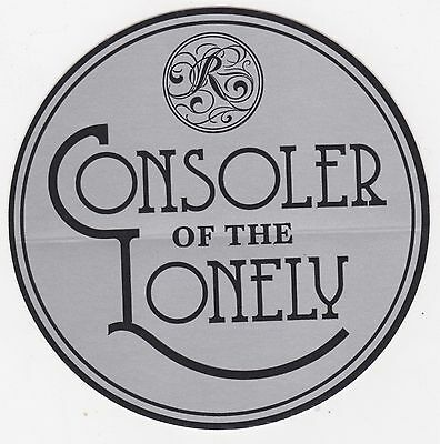The Raconteurs STICKER Consolers of the Lonely OFFICIAL PROMO 2008 Mint Rare