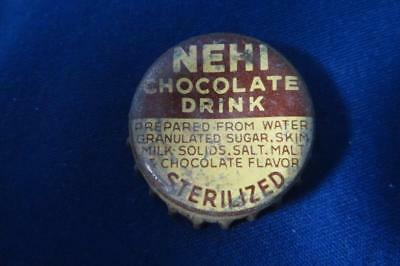 Vintage Bottle Cap Nehi Chocolate Drink Charlottesville, Va