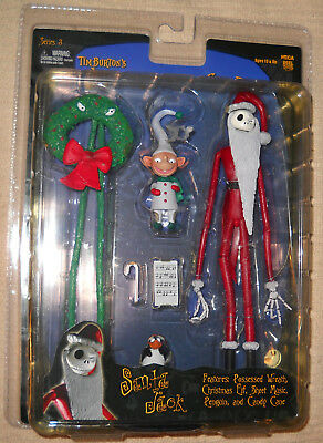 Nightmare Before Christmas Santa Jack Figure Brand New Series 3 NECA Reel Toys