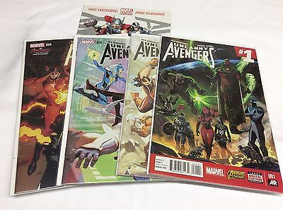 Uncanny Avengers #1-4 (Marvel/2015/2012/remender/101584)Comic Book Set Lot Of 5