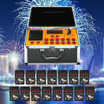 60 Cues Fireworks Firing System W/ 1200Cues Wireless Remote Control Party