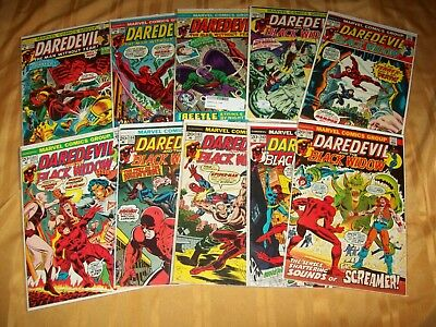 Daredevil # 101 - 110 Comics Complete VF NM Run Hi Grade Lot 103 104 105 106 107