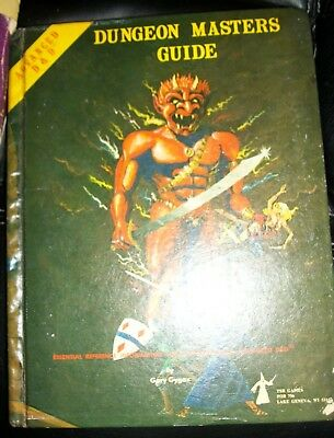 TSR Advanced Dungeons and Dragons Dungeon Masters Guide revised edition 1979
