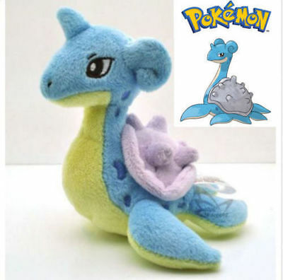 "5"" Pocket Monster Pokemon Anime Lapras Stuffed Soft Plush Kids Toys Doll Gift"